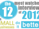 12 Most Watched Interviews of 2012
