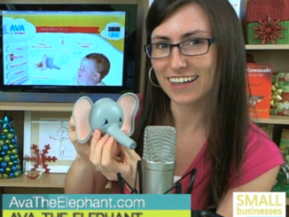 Ava the Elephant on Small Businesses Do It Better