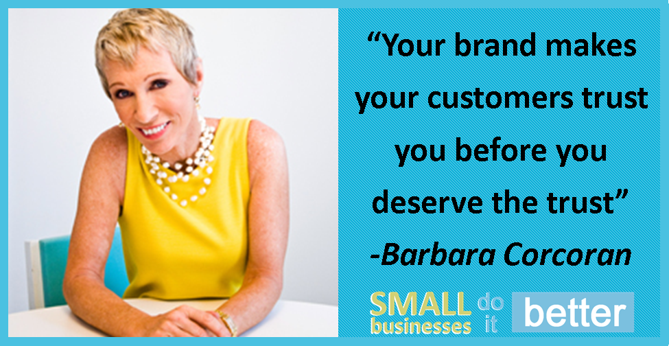 Barbara Corcoran on Building a Brand