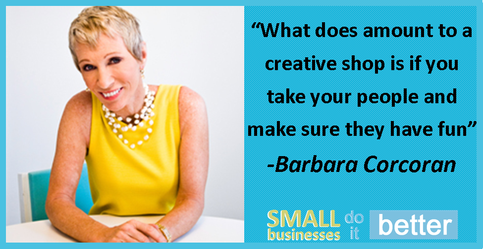 Barbara Corcoran on Creativity