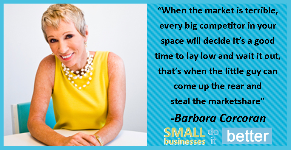 Barbara Corcoran on Stealing the Market
