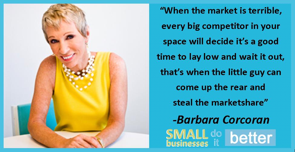 Barbara Corcoran on Stealing the Market
