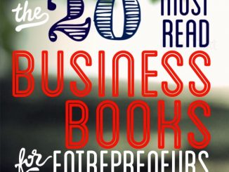 20 Must Read Business Books