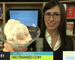 Haute Naked bath and body luxuries - featured on the Small Businesses Do It Better Show