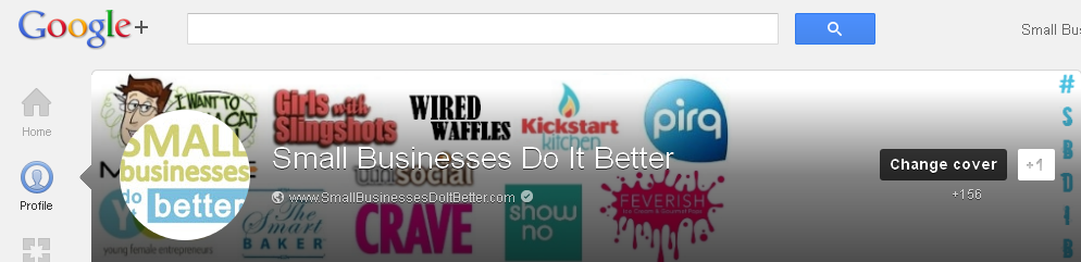 Old Google Plus header image