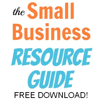 Small Business Resource Guide - FREE download