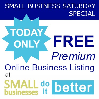Small Business Saturday Business Listing
