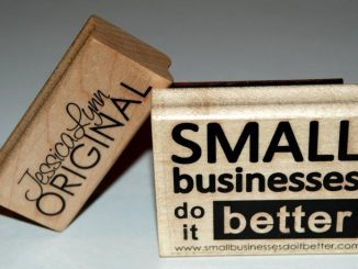 Small Businesses Do It Better Custom Stamp by Jessica Lynn Originals