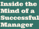 successful manager traits